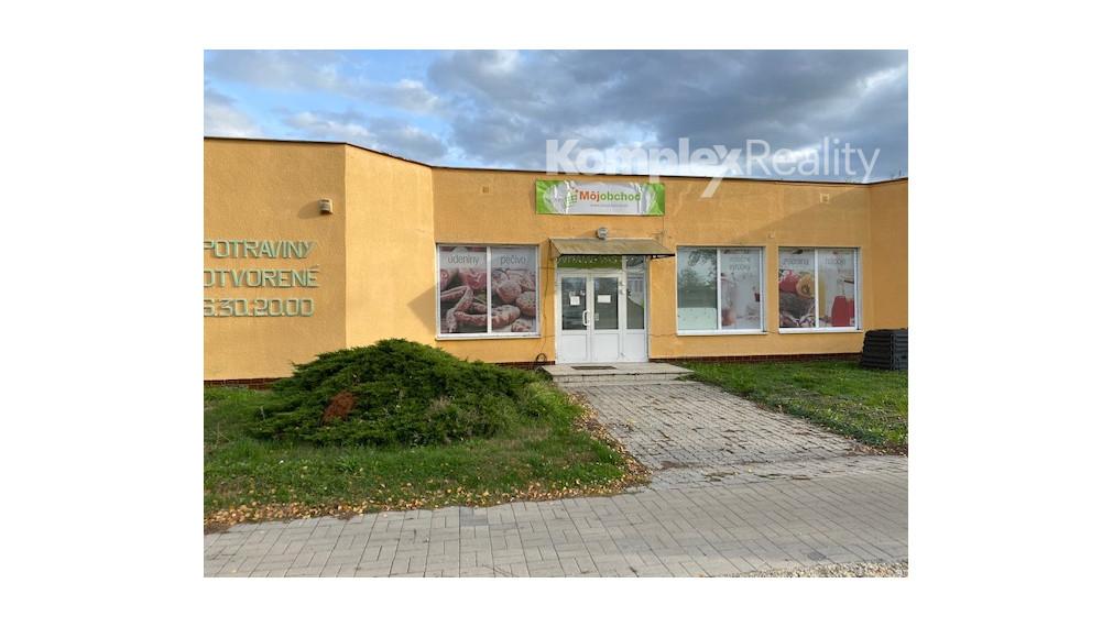 Na predaj - zabehnuté obchodné priestory Palárikovo